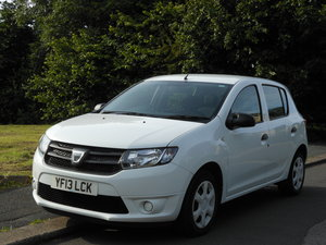2013 Dacia Sandero 1.5 DCI Ambiance 5 Door Road Tax Free SOLD