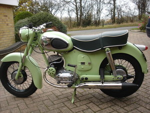 1957 Puch 175 S.V Austrian Motorcycle