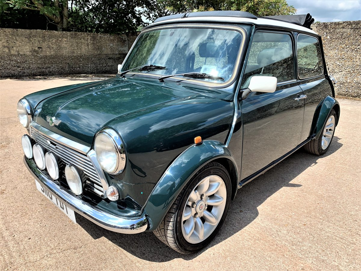 1998 Mini Cooper Sports LE+1 owner since 2008+A1 history+64K For Sale (picture 1 of 6)