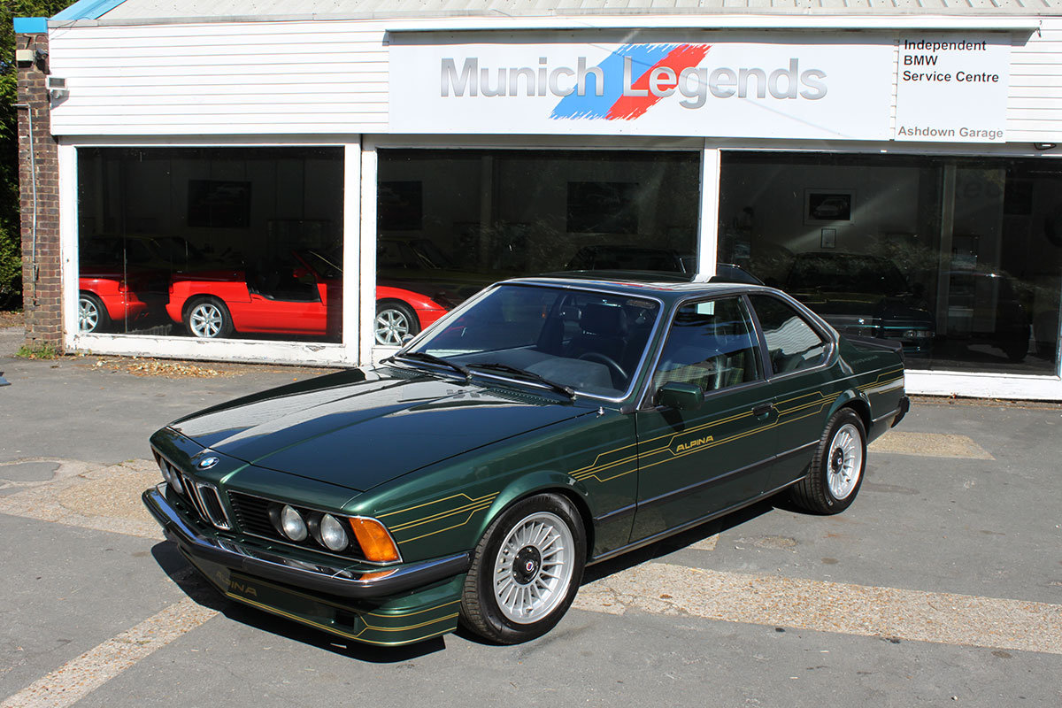 1982 BMW Alpina E24 B7S Turbo Coupe For Sale (picture 1 of 6)
