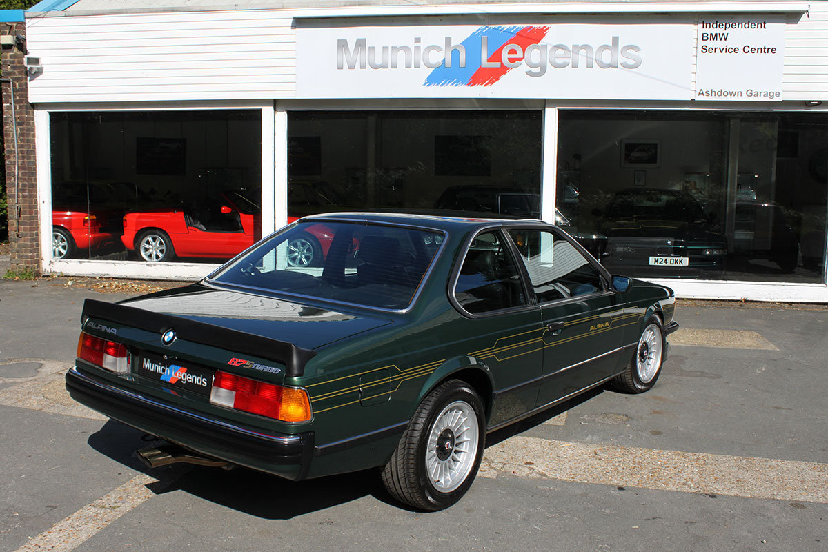 1982 BMW Alpina E24 B7S Turbo Coupe For Sale (picture 2 of 6)