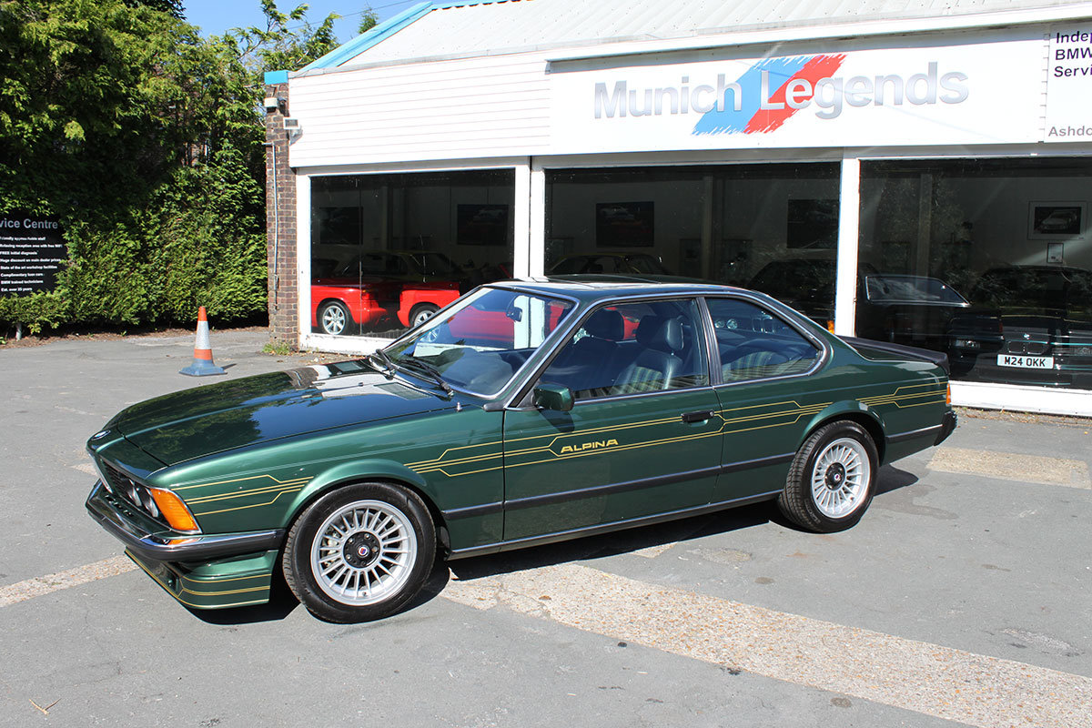 1982 BMW Alpina E24 B7S Turbo Coupe For Sale (picture 6 of 6)