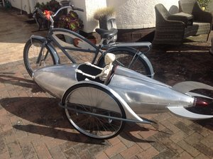 The Rocket Bike, a professionally built one off. For Sale