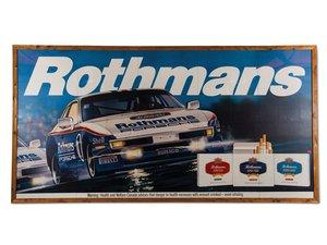 Rothmans Porsche 944 Billboard For Sale by Auction