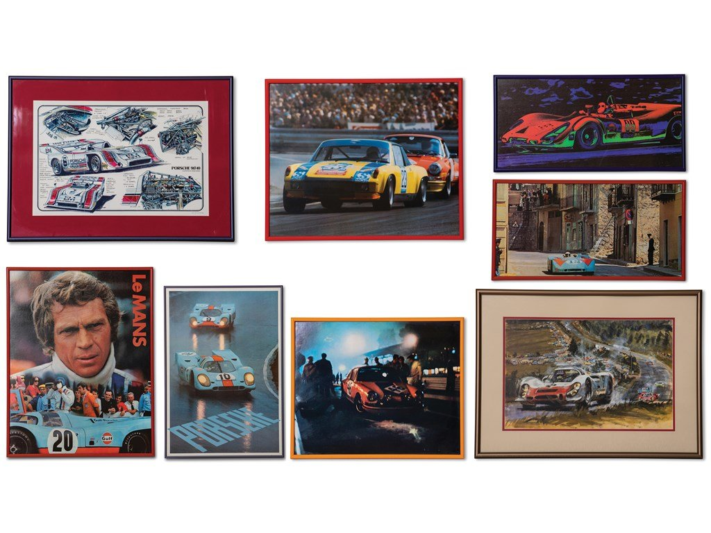 Porsche Racing Photographs For Sale by Auction (picture 1 of 6)