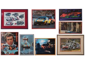 Porsche Racing Photographs For Sale by Auction