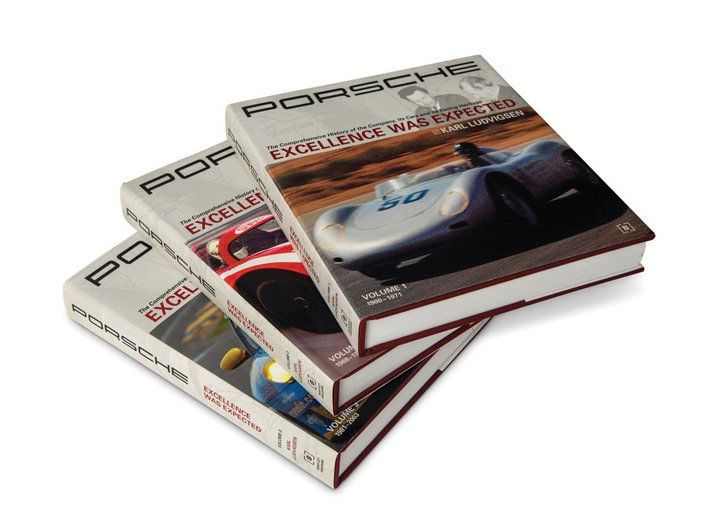 Porsche Excellence Was Expected by Karl Ludvigsen, Three-Vol For Sale by Auction (picture 3 of 3)