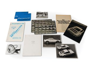 1973 Porsche 911 Carrera RS Supplement Manuals, Brochures, P For Sale by Auction