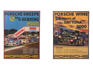 Porsche 996 Racing Posters For Sale by Auction