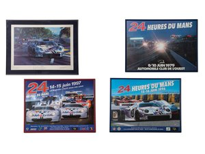 24 Hours of Le Mans Framed Posters and Artwork For Sale by Auction