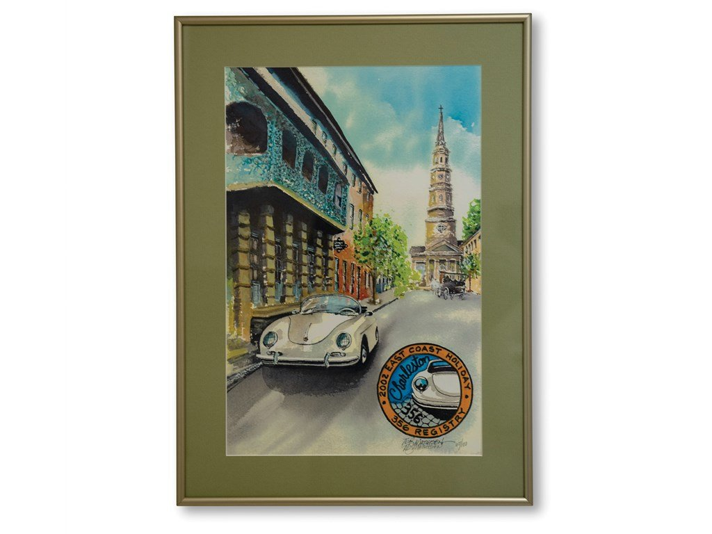 Porsche 356 Registry Framed Posters For Sale by Auction (picture 2 of 5)