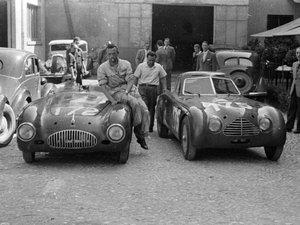 Cisitalia 202SMM Novilari Spyder Ex Mille Miglia 1949/1952 For Sale