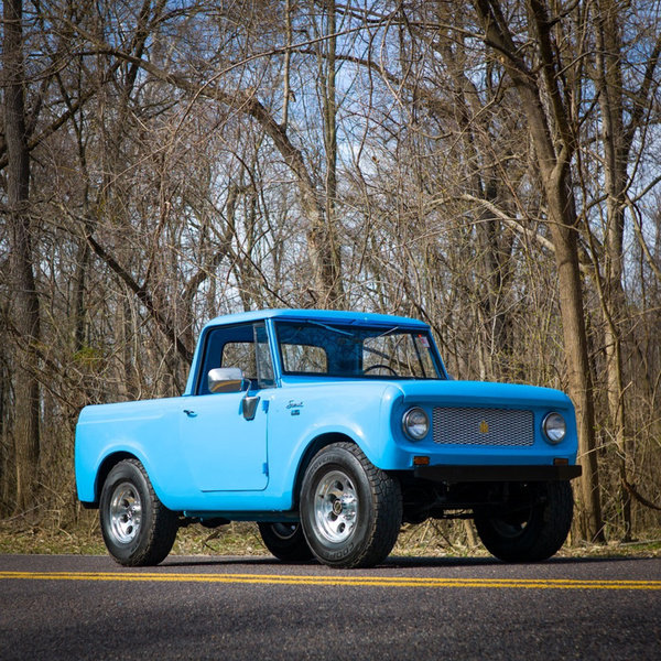1965 International Harvester Scout 80 4X4 SUV = Blue $22 5k