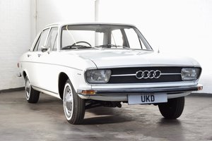 AUDI 100 LS 1.8 WHITE SALOON 1970 4DR For Sale