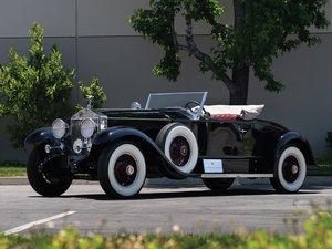1927 Rolls-Royce Phantom I Playboy Roadster by Brewster