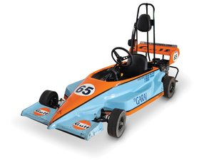 Gulf Livery Mango Powersports Go-Kart For Sale by Auction