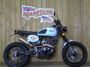 2019 Bullit Motorcycles Hero 125cc Brand New Gulf Oil Ltd Edition For Sale