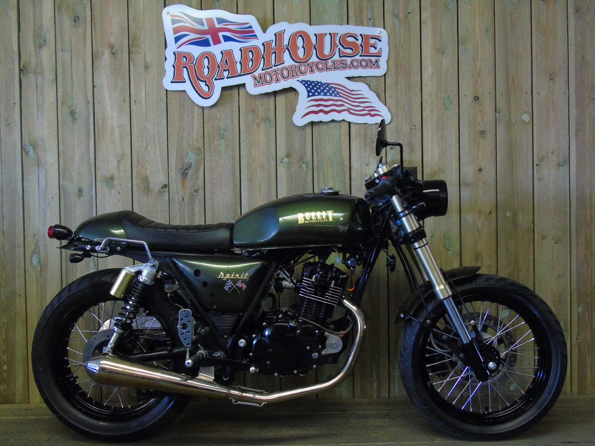 2021 Bullit Motorcycles Spirit 125cc Brand New For Sale (picture 1 of 6)