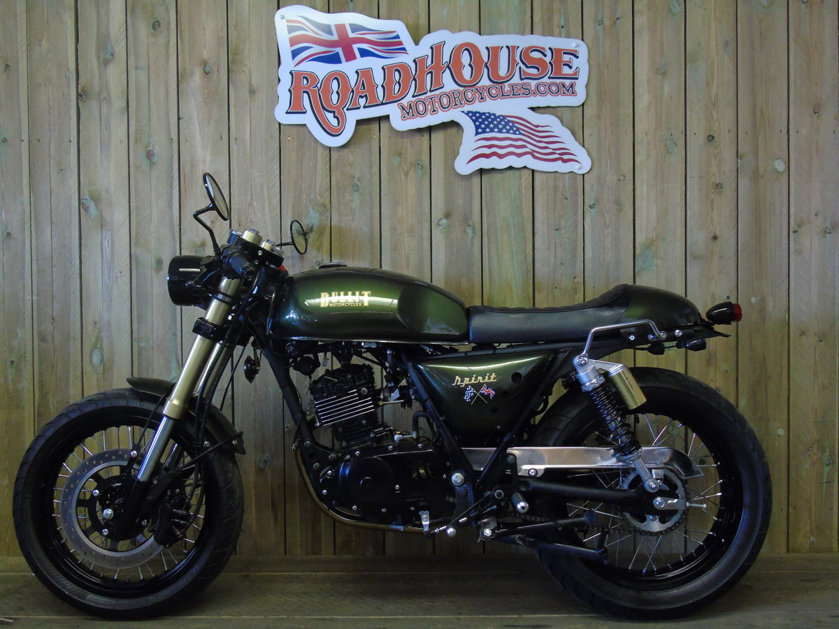 2021 Bullit Motorcycles Spirit 125cc Brand New For Sale (picture 2 of 6)