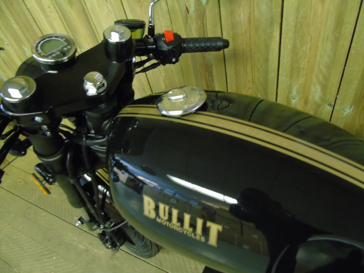 2021 Bullit Motorcycles Spirit 125cc Brand New For Sale (picture 3 of 6)