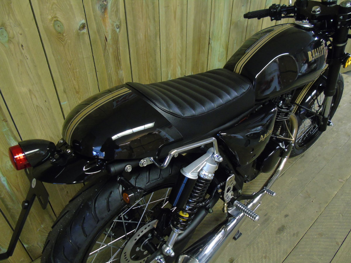 2021 Bullit Motorcycles Spirit 125cc Brand New For Sale (picture 4 of 6)