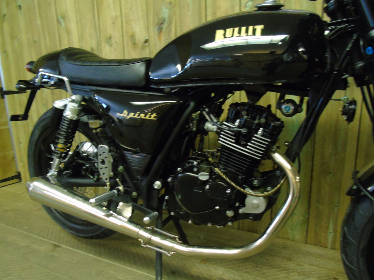 2021 Bullit Motorcycles Spirit 125cc Brand New For Sale (picture 5 of 6)