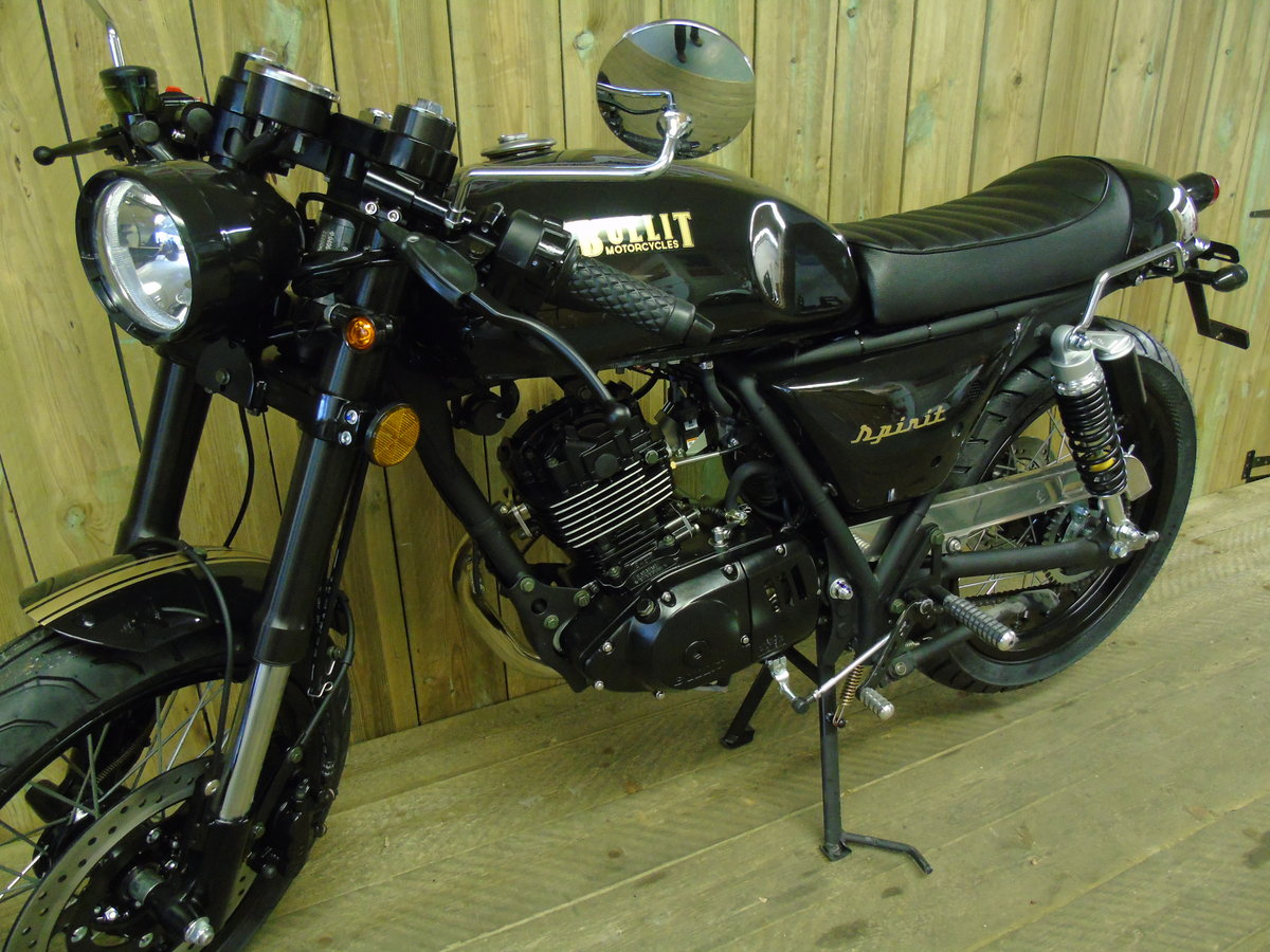 2021 Bullit Motorcycles Spirit 125cc Brand New For Sale (picture 6 of 6)