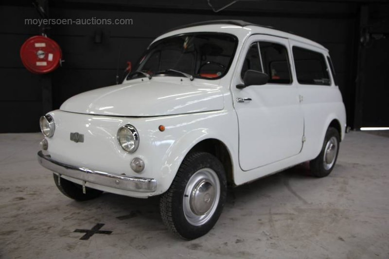 1976 AUTOBIANCHI Bianchina Giardiniera For Sale by Auction (picture 1 of 6)