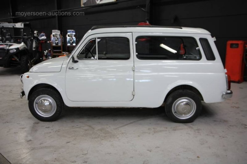 1976 AUTOBIANCHI Bianchina Giardiniera For Sale by Auction (picture 2 of 6)