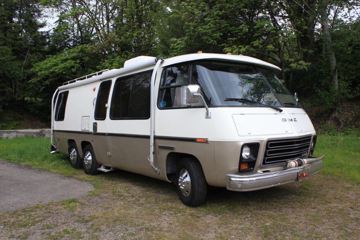 1973 GMC Eleganza RV Class A - Lot 626 For Sale by Auction (picture 1 of 6)