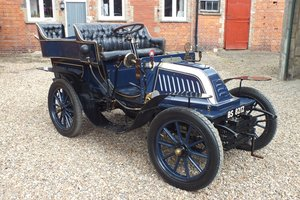 1903 A very rare VCC dated Malicet et Blin 8hp Brighton car