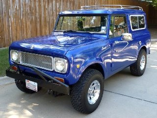 1970  International Harvester Scout = Restored Manual $46.5k