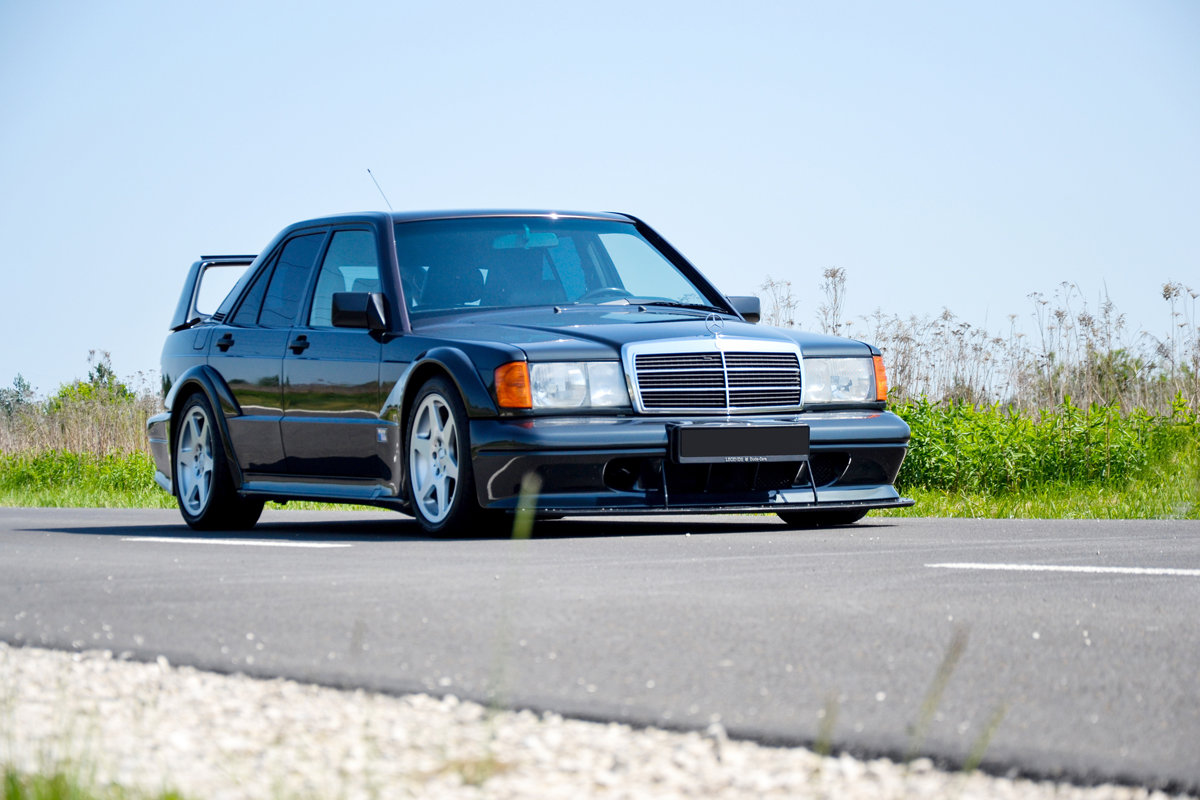 1990 Mercedes 190 E 2.5 16V Evolution II For Sale by Auction (picture 1 of 4)