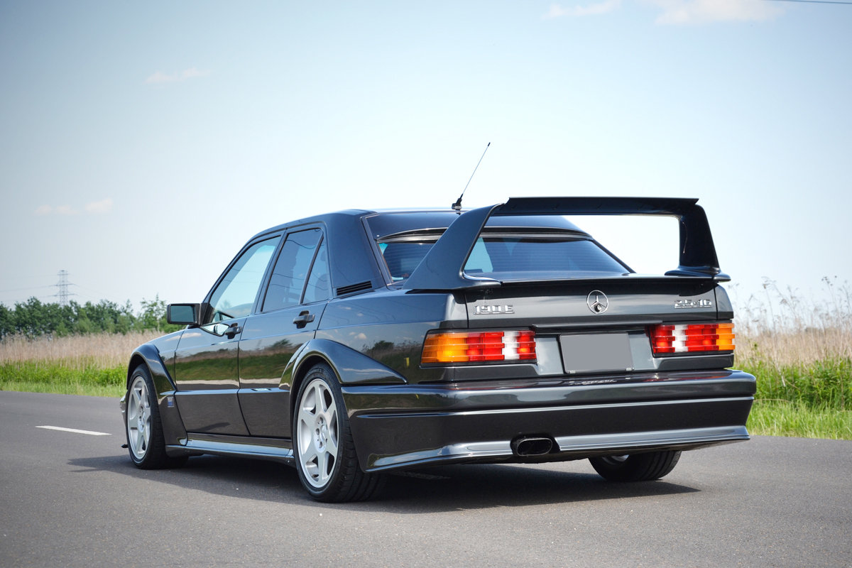 1990 Mercedes 190 E 2.5 16V Evolution II For Sale by Auction (picture 2 of 4)