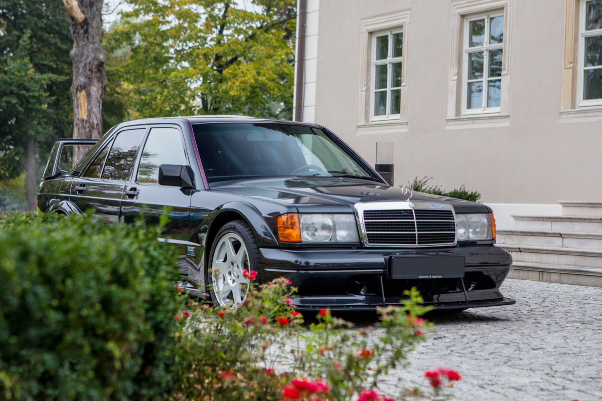 1990 Mercedes 190 E 2.5 16V Evolution II For Sale by Auction (picture 4 of 4)
