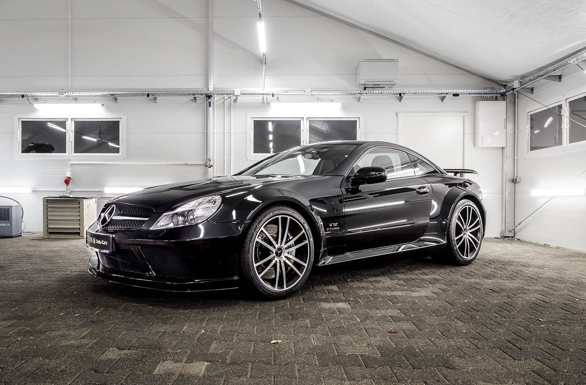 2009 Mercedes-Benz SL65 AMG Black Series For Sale by Auction (picture 2 of 5)