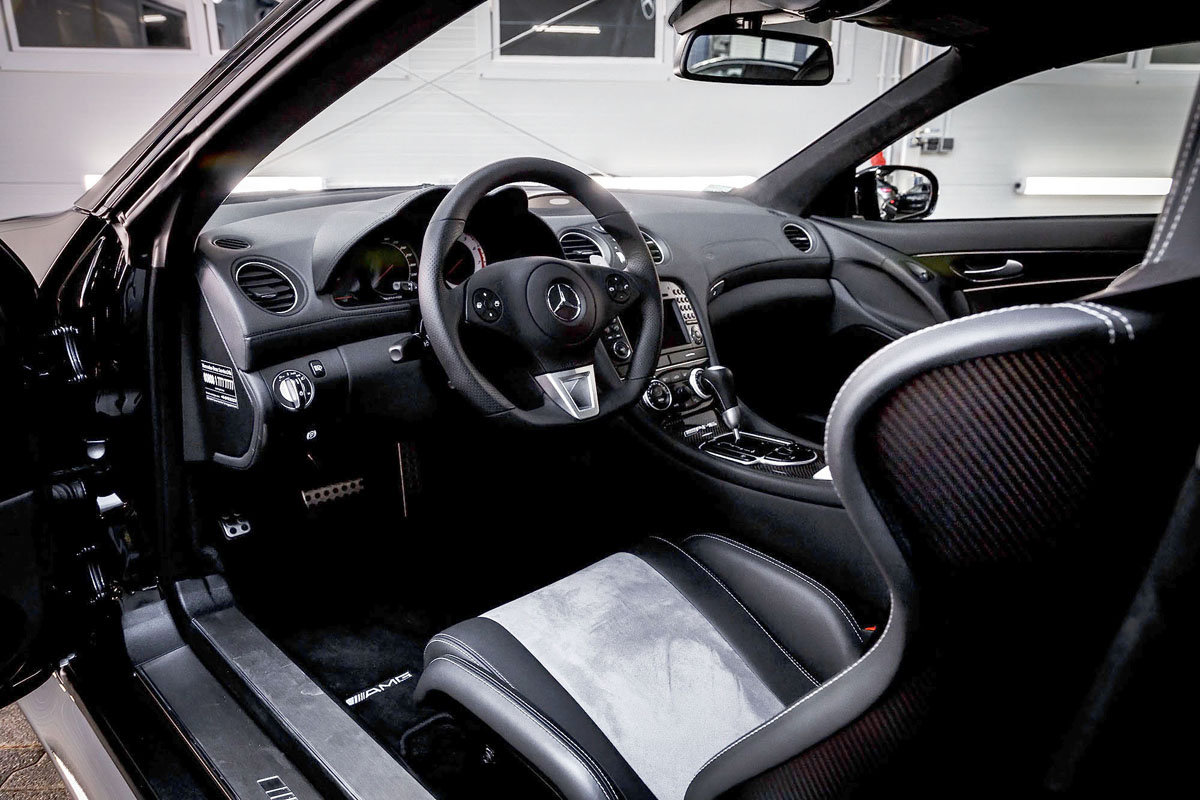 2009 Mercedes-Benz SL65 AMG Black Series For Sale by Auction (picture 3 of 5)