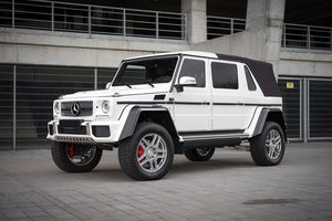 2018 Maybach G650 Landaulet For Sale by Auction