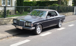 1981 Mercedes- Benz 230 CE For Sale by Auction