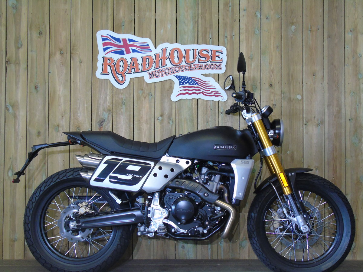 2020 Fantic Caballero 500cc Flat Track Brand New 0% Finance For Sale (picture 1 of 6)