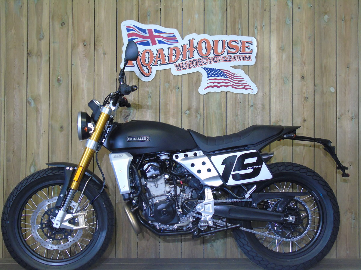 2020 Fantic Caballero 500cc Flat Track Brand New 0% Finance For Sale (picture 2 of 6)