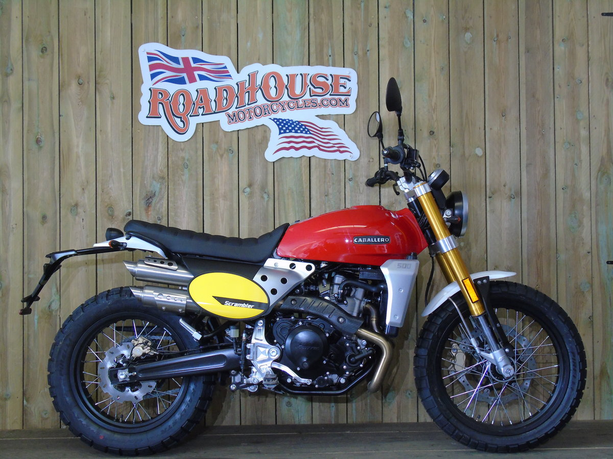 2020 Fantic Caballero Scrambler 500cc Brand New 0% Finance * UK D For Sale (picture 1 of 6)
