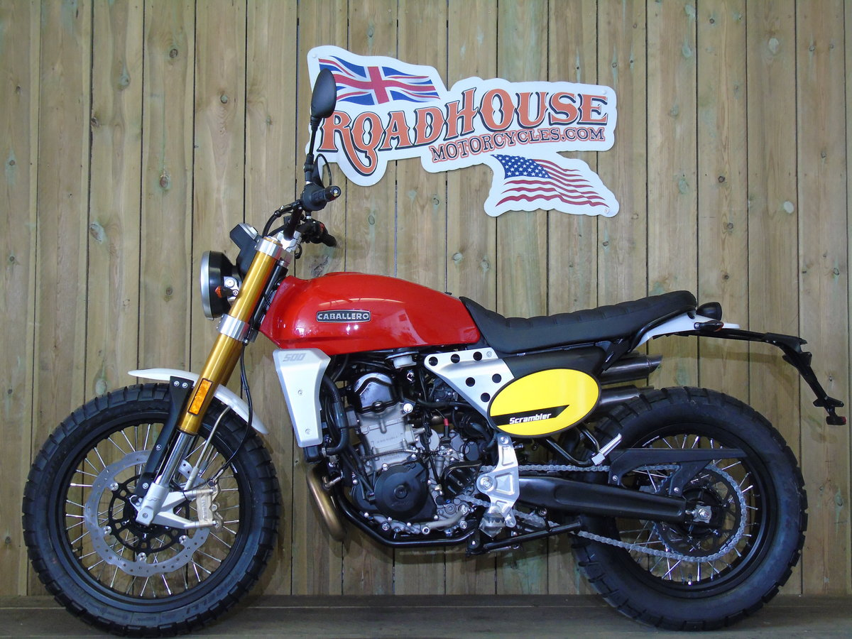 2020 Fantic Caballero Scrambler 500cc Brand New 0% Finance * UK D For Sale (picture 2 of 6)