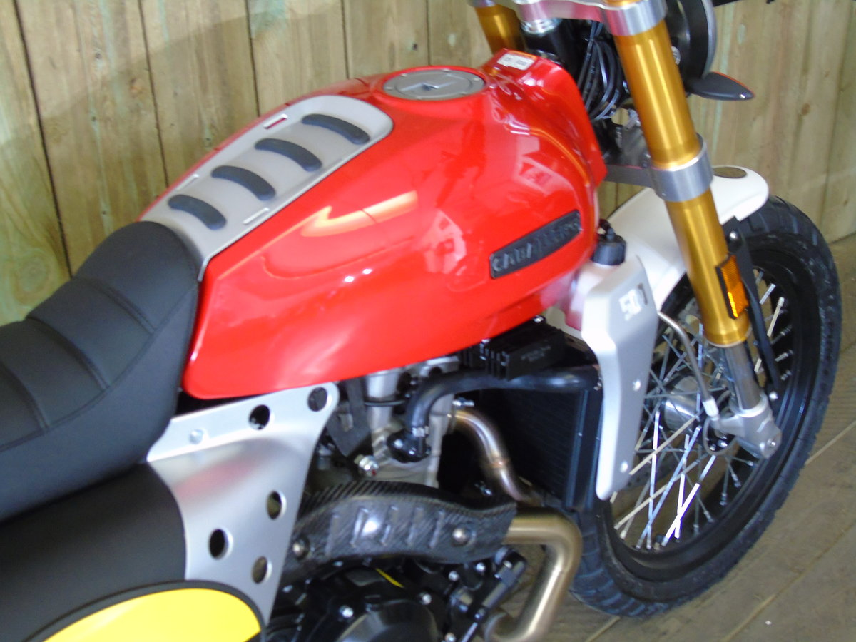2020 Fantic Caballero Scrambler 500cc Brand New 0% Finance * UK D For Sale (picture 5 of 6)