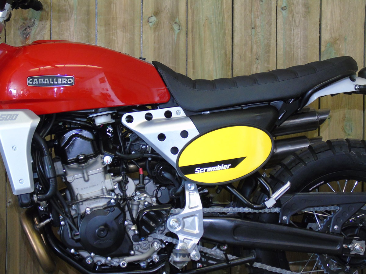 2020 Fantic Caballero Scrambler 500cc Brand New 0% Finance * UK D For Sale (picture 6 of 6)