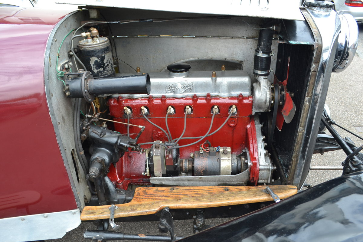 1930 Crossley Silver 2.0 Litre Tourer RHD For Sale (picture 6 of 6)