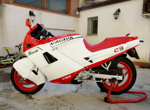 1280/5000 CAGIVA 125 FRECCIA C9 (1987) JUST RESTORED For Sale