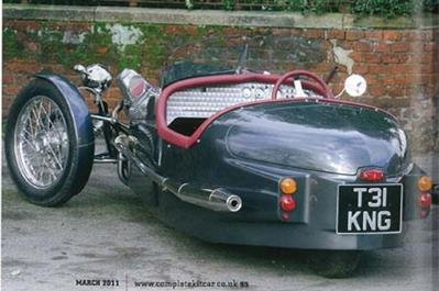 2010 Triking Cyclecar Ex Demonstrator For Sale (picture 5 of 6)