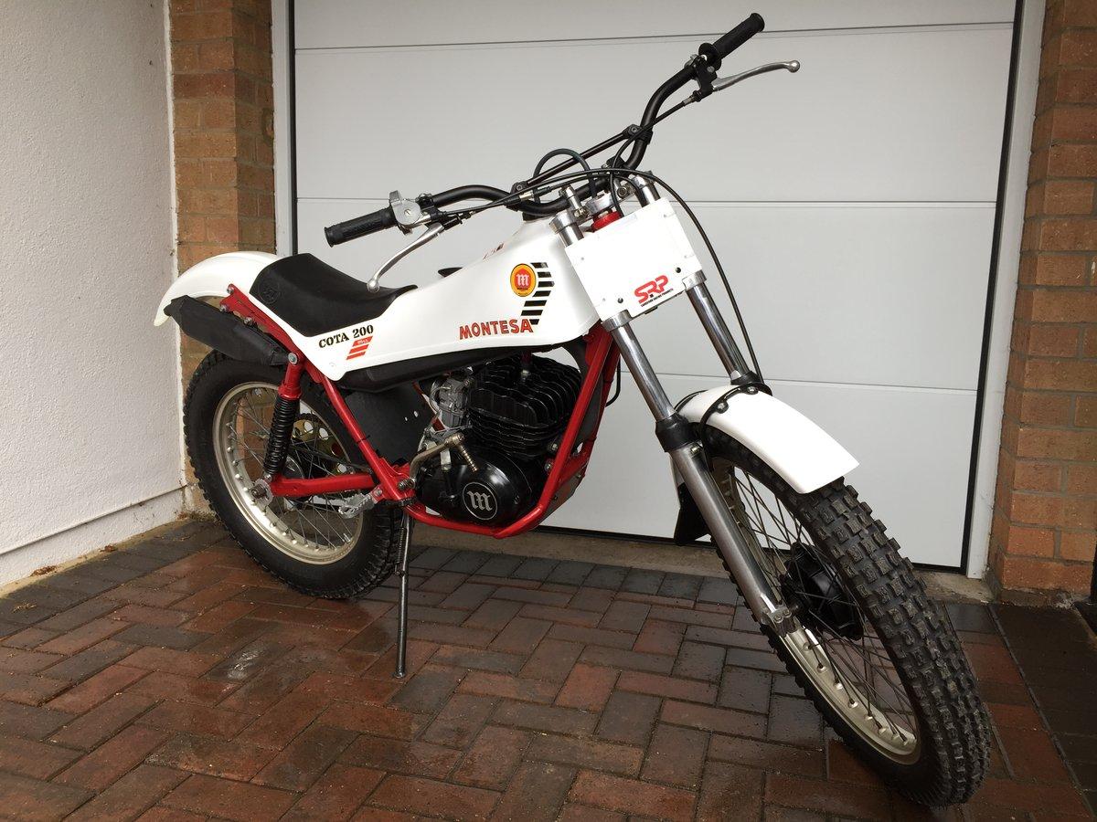 1983 Montesa Cota 200 Classic Twin Shock Trails Bike For Sale (picture 4 of 6)