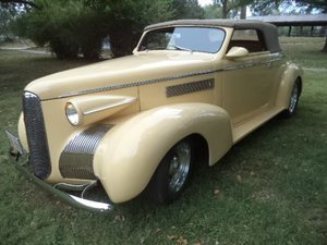 1939 LaSalle Right Hand Drive Convertible  For Sale